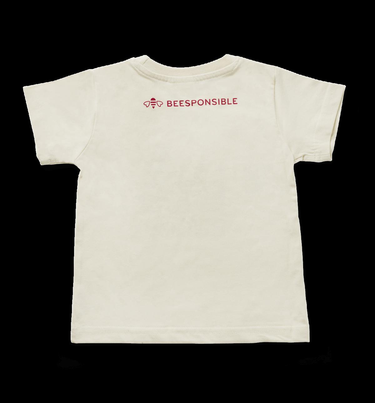 Beesponsible Toddler T-shirt Back - Beesponsible Logo